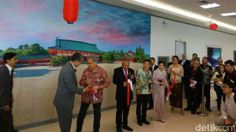 Foto: Suasana peresmian Japan Visa Application Centre (Randy/detikTravel)