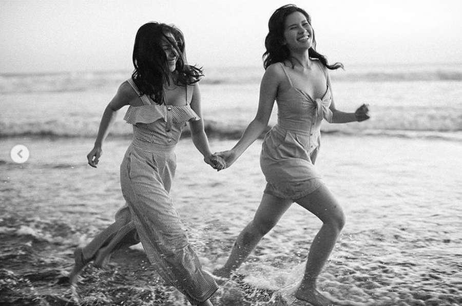 Besties! Serunya Jessica Mila dan Michelle Joan saat Liburan
