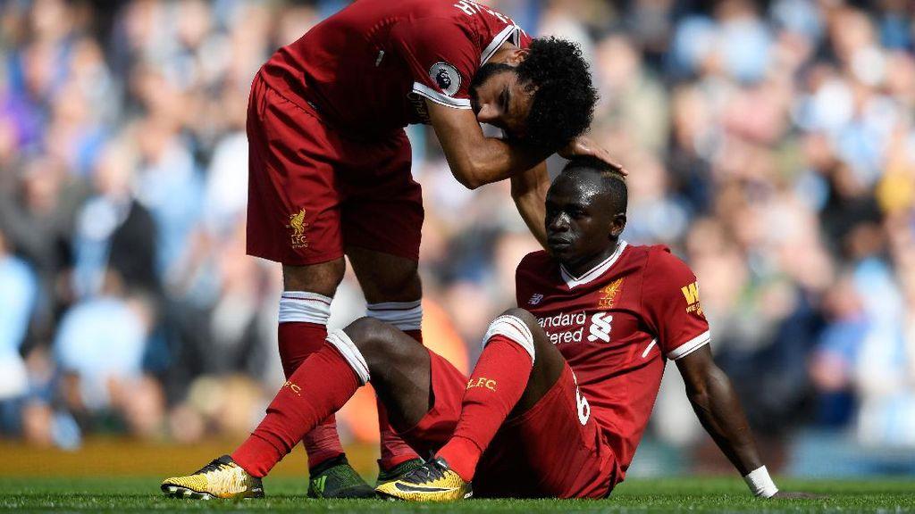 Salah Minta Liverpool Tak Ratapi Cederanya Mane