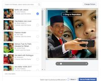 'Selfie Bareng Jokowi' Ramai di Facebook, <i>Kok</i> Bisa?