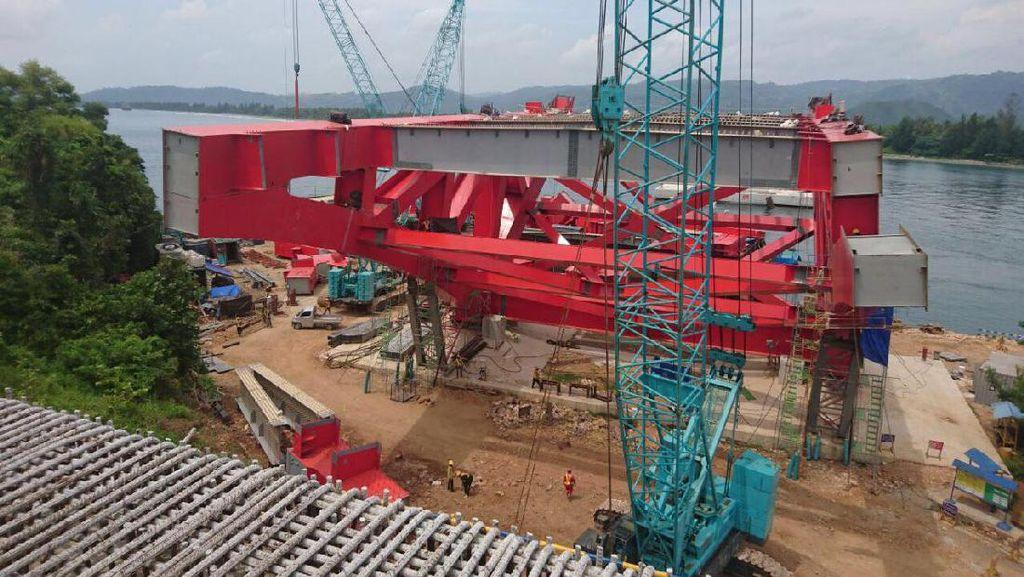 Pembangunan Jembatan Terpanjang Papua Dipercepat