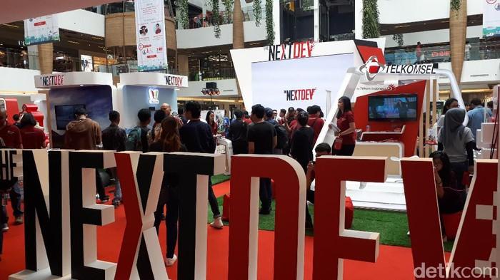 Acara Showcase The NextDev di Bandung. Foto: Mukhlis Dinillah
