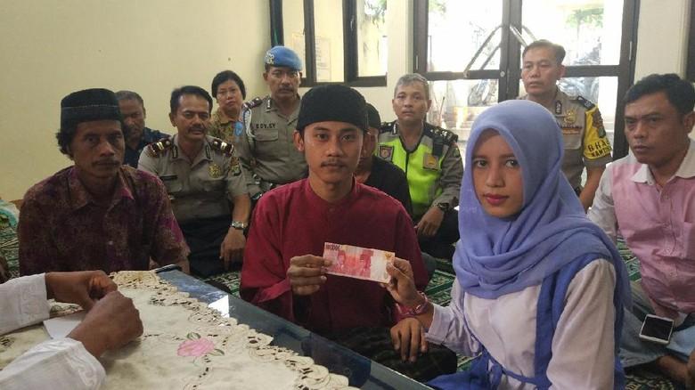 Kisah Tahanan Pencuri Kabel Menikah dengan Mahar Rp 100 Ribu