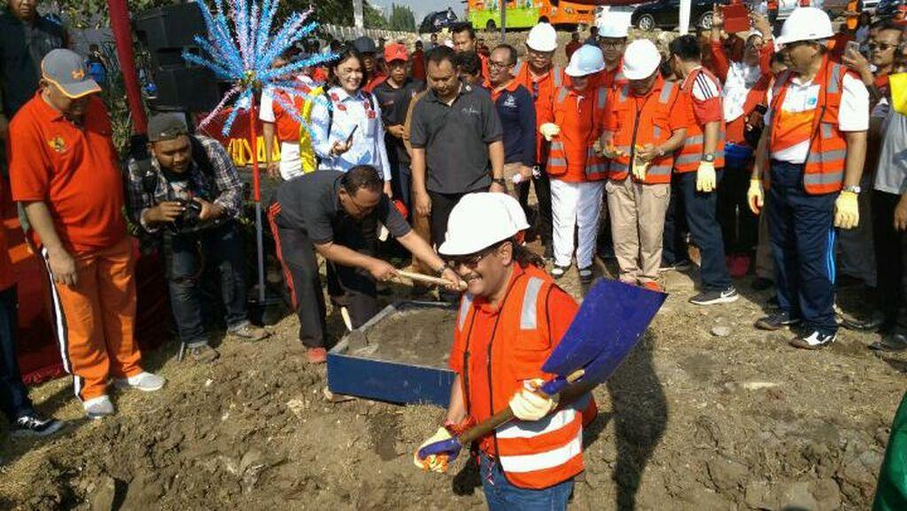 Djarot Targetkan Pembangunan Stadion BMW Selesai 2 Tahun