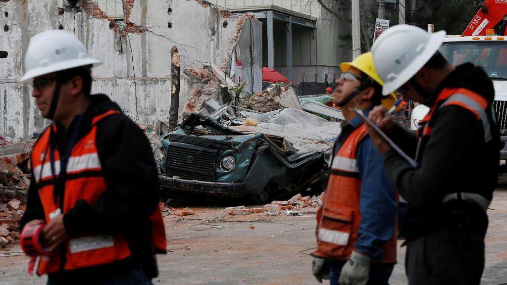 Gempa 8 SR Disebut Gempa Terdahsyat Sepanjang 8 Dekade di Meksiko