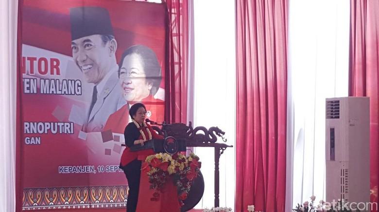 Resmikan Kantor DPC PDIP Malang, Megawati Ingatkan Gotong Royong