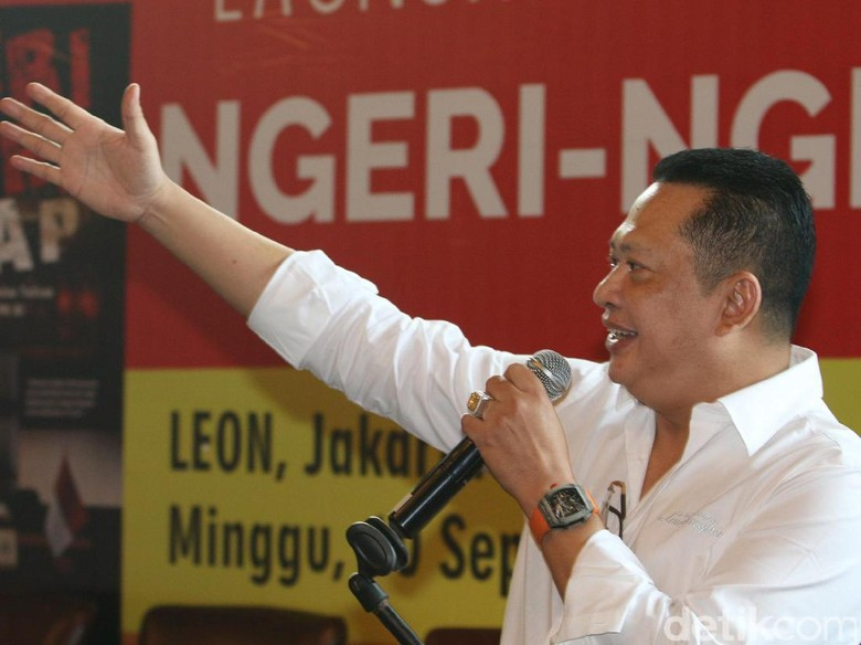 Bamsoet Jamin Status Novanto Tak Membuat Golkar Tumbang