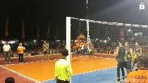 51 Klub Bola Voli Rebutkan Piala Srikandi Kosgoro Bojonegoro