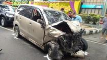 2 Mobil Tabrakan di Medan, Seorang Polisi Tewas
