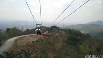 Foto: Flying Fox Sepanjang 625 Meter di Gunungkidul, Berani?