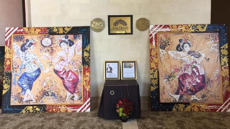 Karya I Nyoman Gunarsa dipamerkan di The Trans Resort Bali (dok. The Trans Resort Bali)
