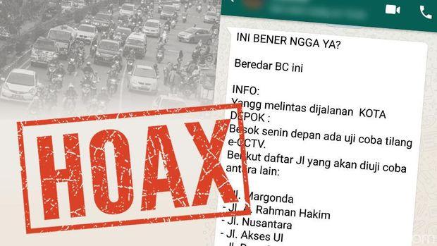Ada Broadcast Tilang e-CCTV akan Diterapkan di Depok, Benarkah?