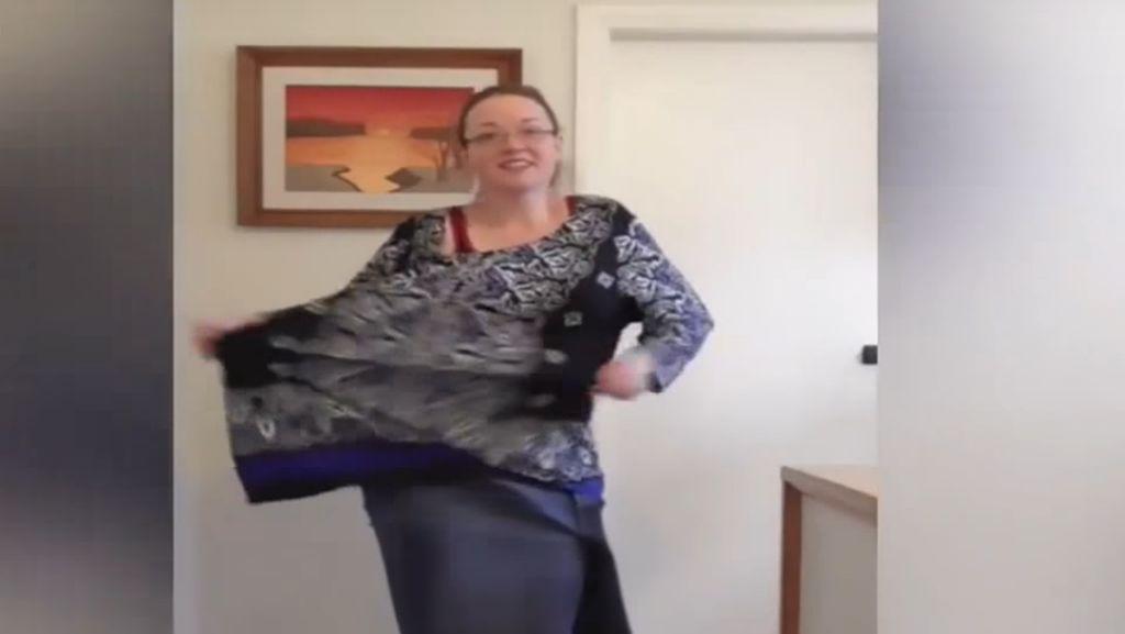 Wanita Ini Joget-Joget Hempaskan 62 Kg Lemak di Tubuhnya