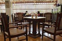 Suasana di kafe Limun Oriental Cap Nyonya (Randy/detikTravel)