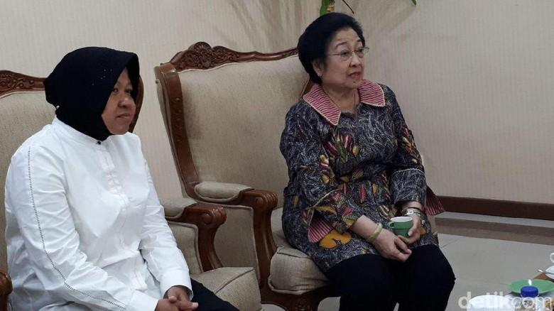 Ditanya Megawati Soal Cagub Jatim, Risma: Ibu Feeling-nya Kuat