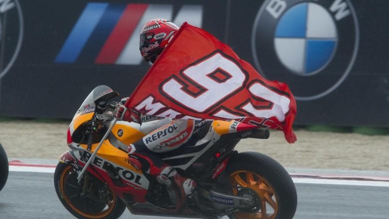Marquez Bersiap Hadapi Sengitnya Lima Seri Terakhir