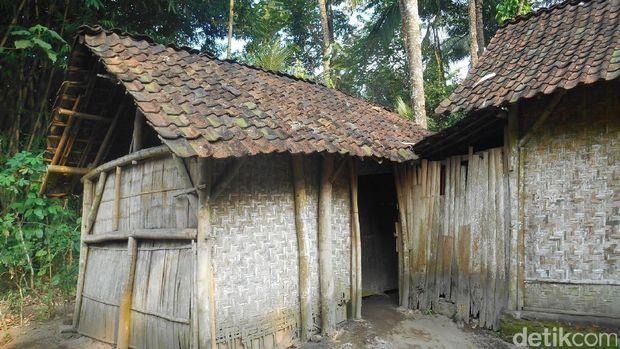 Rumah yang ditempati Nisa, balita gizi buruk di Blitar/