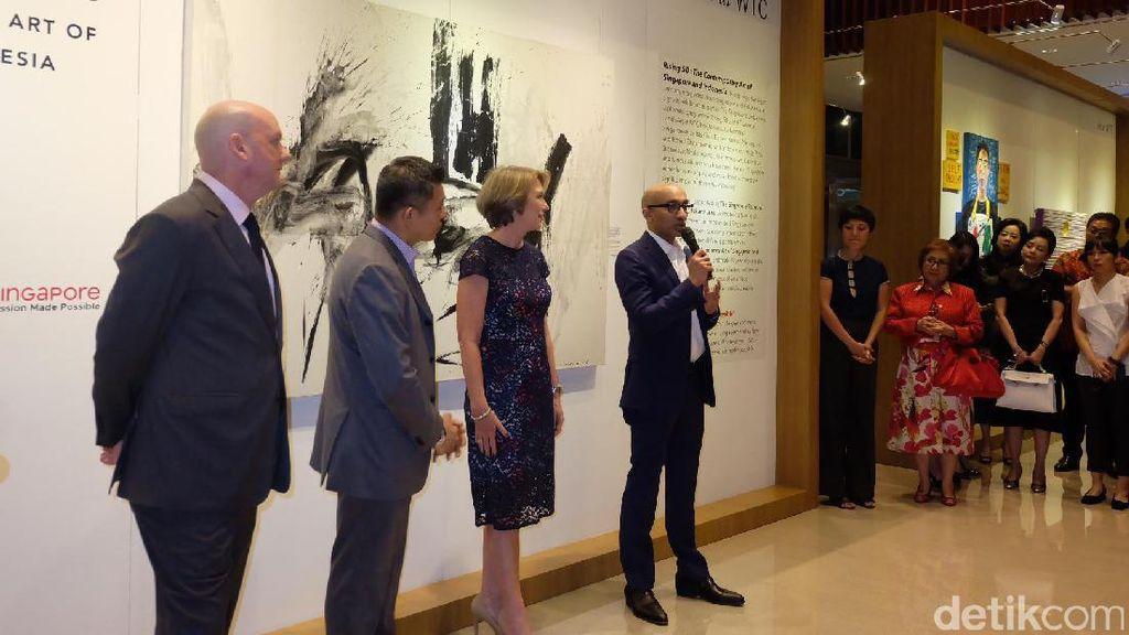 Pameran Seni 50 Tahun Singapura-Indonesia Undang 8 Seniman