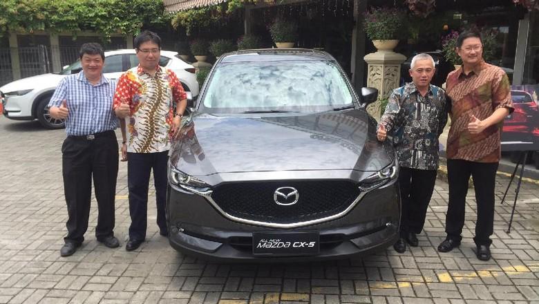 Eurokars Kenalkan Mazda CX-5 di Medan