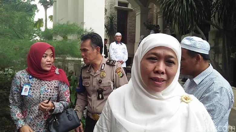 Mensos Khofifah Kenang Kedekatan dengan Istri Hamzah Haz