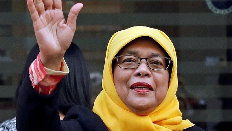 Ini Halimah Yacob, Wanita Pertama yang Akan Jadi Presiden Singapura