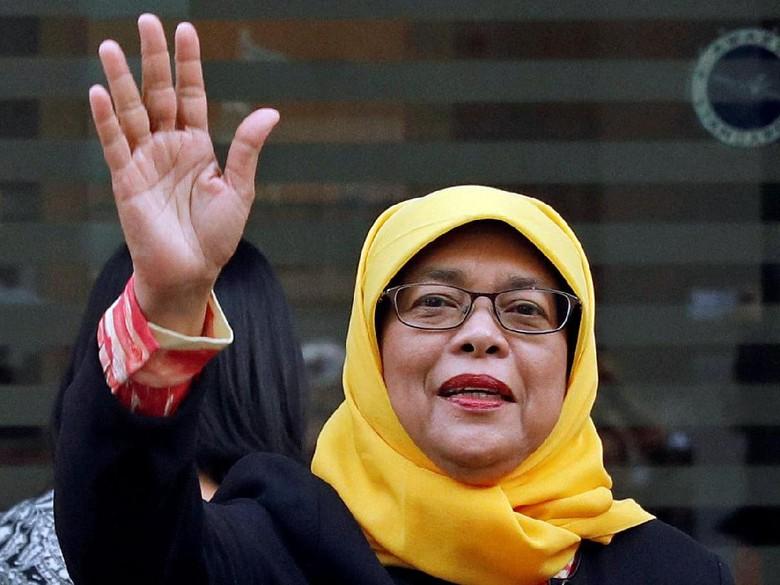Halimah Yacob, Wanita Pertama yang Akan Jadi Presiden Singapura