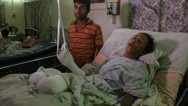 Duh! Banyak Warga Muslim Rohingya Cacat Akibat Ranjau Darat