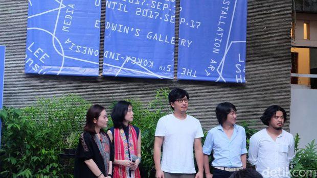 Delapan Seniman Korea-Indonesia Gelar Pameran di Jakarta