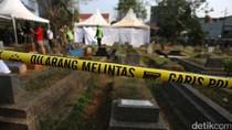 Polisi Bongkar Makam Tertuduh Pencuri Vape