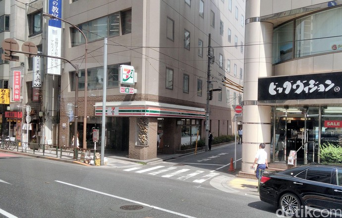 Begini Lho Wajah Sevel di Tokyo