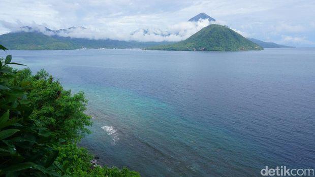 Keindahan Pulau Maitara (Wahyu/detikTravel)