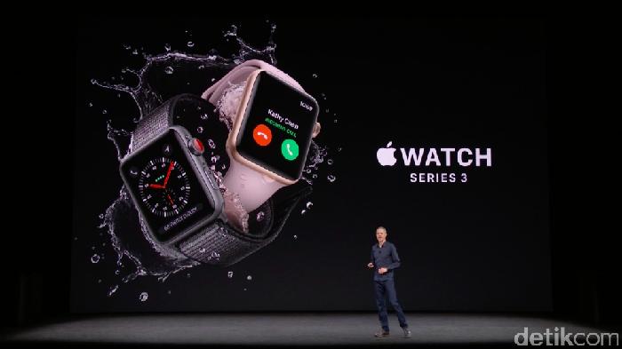 Apple Watch Series 3 (Achmad Rouzni Noor II/detikINET)
