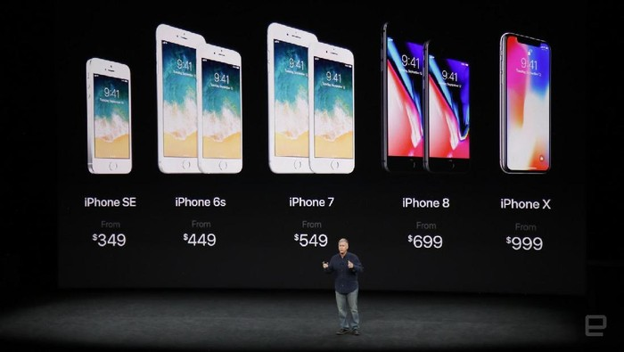 Peluncuran iPhone 8, iPhone 8 Plus, dan iPhone XFoto: internet