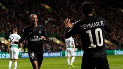Neymar dan Mbappe Cetak Gol, PSG Hajar Celtic 5-0