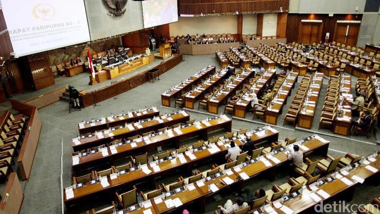DPR Gelar Paripurna Pansus Hak Angket KPK Besok