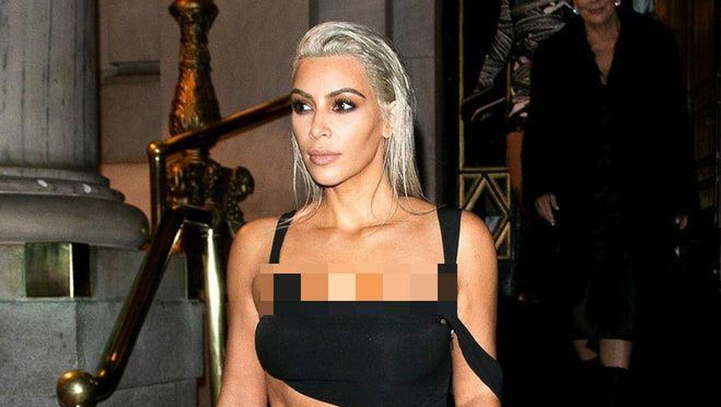 Pernah Dirampok, Kim Kardashian Ingin Kurangi Main Media Sosial di 2018