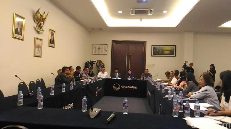 Diskusi di NasDem, KPK: Calon Kepala Daerah Harus Bebas Mahar