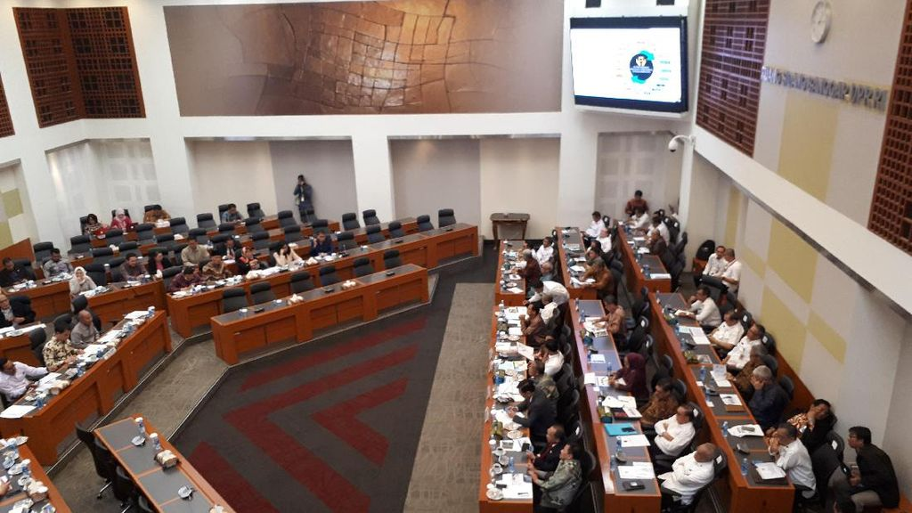 Puan, Luhut, Darmin, dan Wiranto Rapat Bahas Anggaran 2018 di DPR