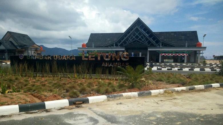 Hampir Rampung, Begini Wujud Bandara Letung di Wilayah Terluar RI