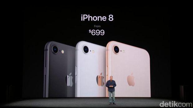 Apple Resmi Luncurkan iPhone 8 dan 8 Plus