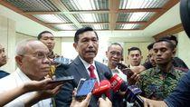 Ditanya soal Cawapres Jokowi, Luhut: Itu Urusan Mensesneg