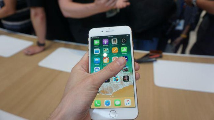 iPhone 8 Plus. Foto: Dok. techradar
