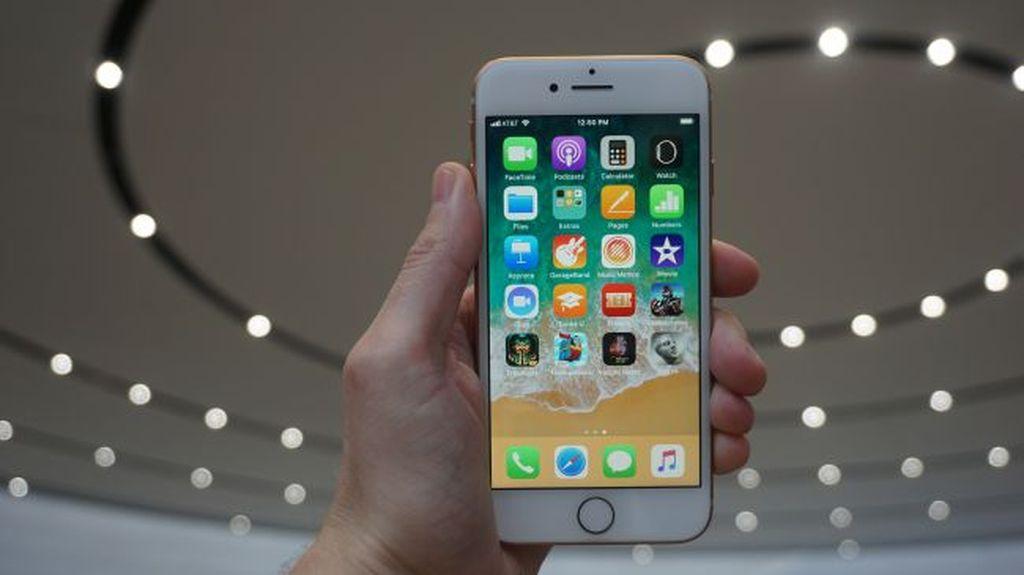 Namun ada berbagai peningkatan di iPhone 8. Layarnya sendiri 4,7 inch resolusi 1.334 x 750 pixel. Foto: istimewa