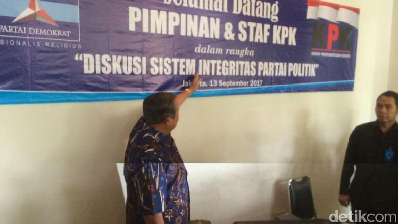 SBY: Pak Jokowi Dukunglah KPK, Polri, Kejaksaan Berkolaborasi