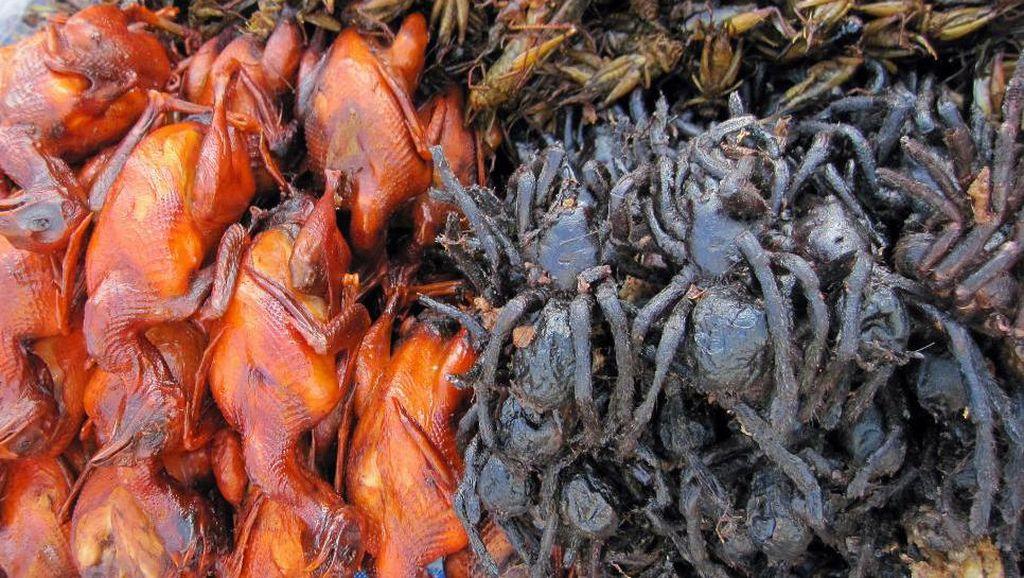 Ini 10 Makanan Paling Aneh di Dunia, Dari Ulat, Usus Kuda hingga Tarantula
