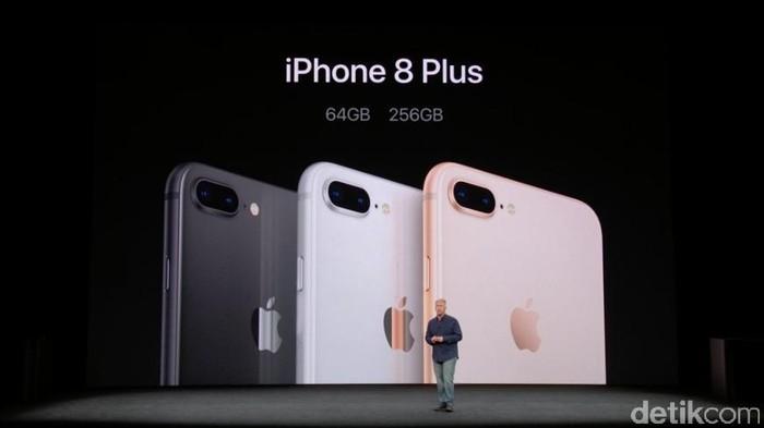 iPhone 8 Plus (Achmad Rouzni Noor II/detikINET)
