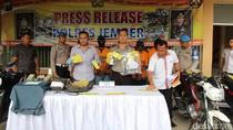 Pecatan Polisi Ditangkap Terlibat Pencurian Mobil