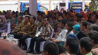 Saat Najwa Dampingi Jokowi Keliling Perpustakaan Tertinggi di Dunia