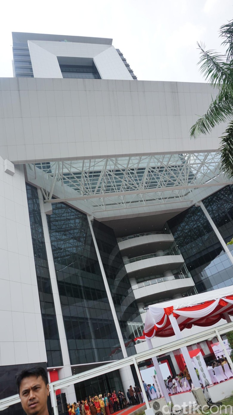 Jokowi: Gedung Perpustakaan Nasional RI Tertinggi di Dunia