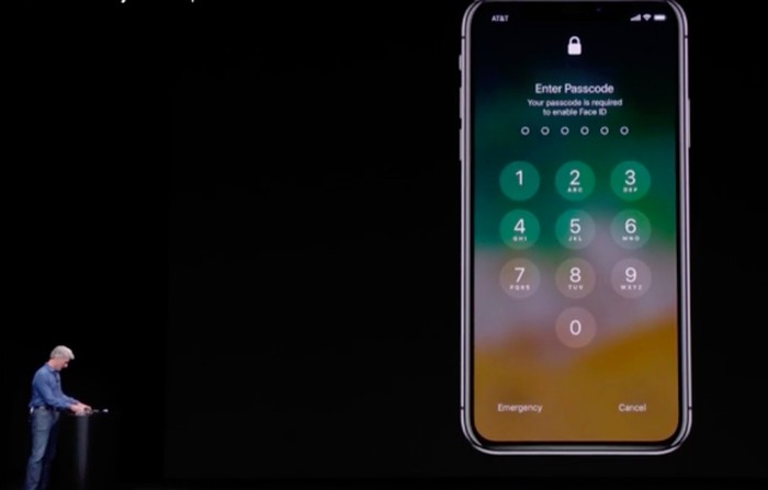 Momen bos Apple gagal pakai Face ID. Foto: istimewa